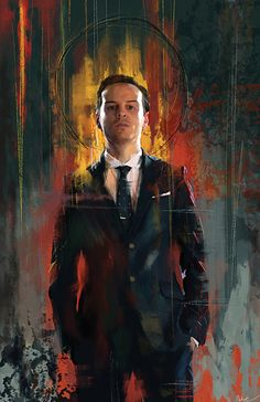 Jim Moriarty Art Print by Wisesnail, $15