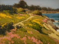 Spring Colors by Brian Blood - Oil