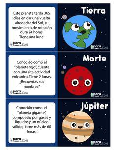 Solar System For Kids, Solar System Art, Learning Time, Little Learners, Spanish Vocabulary, Home Schooling, Kids Education, Homeschool, Kindergarten