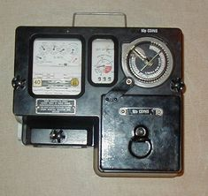 coin meter inside the scullary to obtain electricity