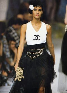 Chanel ready-to-wear spring 1992