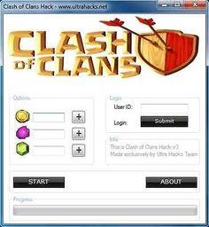 clash of clans hack for gems no verification