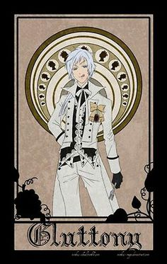 Black Butler - Seven Deadly Sins, Ash