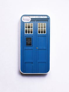 iPhone 4 Case Tardis Call Box Blue Phone Booth  by onyourcasestore, $16.99 <- I MUST own this NOW!!!