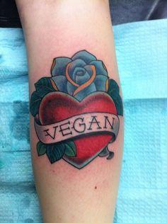 one for James  (100+) vegan tattoo | Tumblr