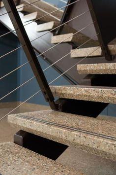 Architectural Specialties Ltd.   Precast Terrazzo: Stairs, Wall Panels,