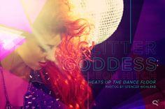 Glitter Goddess neon hitch