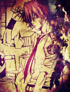 Gokudera Hayato - Katekyo Hitman Reborn! My Edit ~♡ [Tachiyama] julijulii ~ ♡