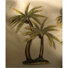 Palm Tree Decor Coco Metal Wall Home Kitchen