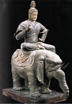 空海と密教美術展より 東寺 帝釈天騎象像  @Kyoto