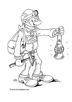 23 Best Mining Color Pages Images Coloring Pages Colouring Pages