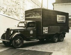 PGW Truck, 1935. While PGW trucks have changed designs many times over the years, PGW continues to service 6,000 miles of gas mains, a system that serves 500,000 customers. Photo Credit: The Free Library of Philadelphia