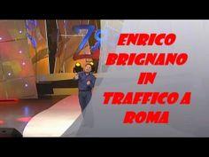 Enrico Brignano in traffico a Roma