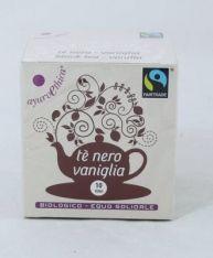 Tè nero e Vaniglia bio/FT 10 filtri 2g*