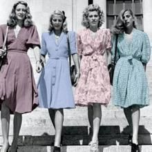 forties fashion