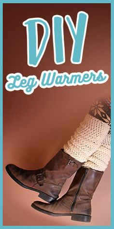 Turn Your Old Sweater Into Leg Warmers #DIY