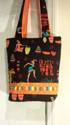9431e0ee75b Beauty Noir Quilted Tote Bag by beeceequilts on Etsy, $30.00 African  Quilts, African Fabric