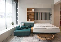 Bunk Beds, Entryway, Grey, Furniture, Home Decor, Carpentry, Contemporary Design, Stones, Entrance