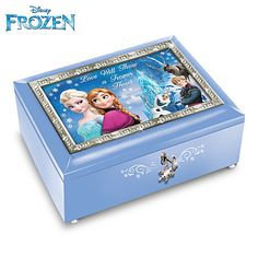 """Disney FROZEN Music Box plays """"Let it go"""""""