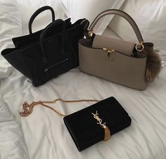 Celine and Louis Vuitton handbags Hermes Handbags, Luxury Handbags, Purses And Handbags, Luxury Bags, Cheap Handbags, Cheap Bags, Casual Chique, Cute Purses, Fancy