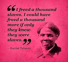Harriet Tubman quote civil rights black liberation struggle freedom equality slavery hero legend icon history(one of my favorite quotes! Black History Quotes, Black History Facts, Black History Month, Harriet Tubman Quotes, Transgender, By Any Means Necessary, It Goes On, African American History, Famous Quotes