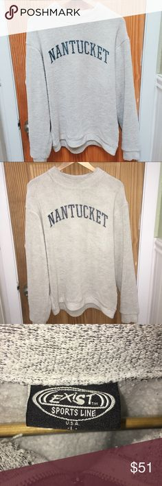 Nantucket terry loop crew neck Size M soft crew neck  Price is firm - do not lowball Sweaters