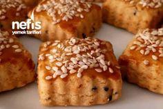 Kırmızı Biberli Çörek Otlu Kurabiye (Nefis) Tarifi