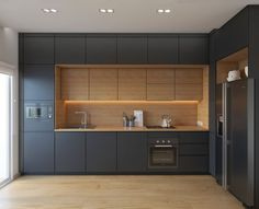 Modern Kitchen Interior Remodeling 35 Modern Black Kitchens That Tempt You To Go Dark For Your Ideas Modern Kitchen Cabinets, Contemporary Kitchen, Kitchen Design, Kitchen Cabinet Design, Kitchen Renovation, Kitchen Decor, Kitchen Room Design, Kitchen Interior, Kitchen Layout