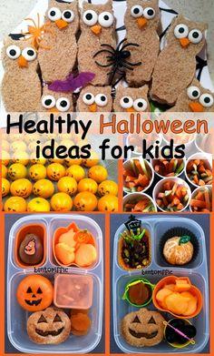 Healthy Halloween ideas for kids http://fourcornerfoodies.com/healthy-halloween-ideas-for-kids/