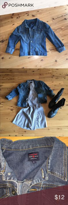 C'est toi light weight jean jacket vintage Cute essential to any closet! Very versatile and comfortable. No flaws, rips or stains. This jacket is in great condition! C'est toi Jackets & Coats Jean Jackets