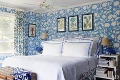Bedroom Decorating Inspiration: Soothing Shades of Blue