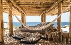 Scorpios Beach club, Mikonos by k-studio