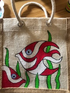 Fabric Paint Shirt, Fabric Painting On Clothes, Flower Embroidery Designs, Embroidery Patterns, Diy Jute Bags, Diy Bag Designs, Painted Canvas Bags, Fabric Paint Designs, Cushion Cover Designs