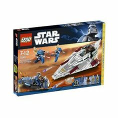 LEGO Mace Windu's Jedi Starfighter 7868 by LEGO Mace Windu's Jedi Starfighter 7868. $69.99. Blast through the droid ambush with Mace Windu's Jedi Starfighter! With quad flick missile launchers and the reliable R8-B7 astromech droid to navigate and repair, Mace Windu will be more than a match for the tactical droid, TX-20, on his Separatist Speeder. Also includes two battle droids on STAPs. Warning: Not Suitable For Children Under 3 Years Due to Small Parts.