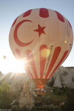 Hot air ballooning, Cappadocia, Turkey-8 #Turkey #TravelTurkey #hotairballoon