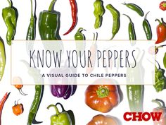 Chile peppers are thought to have originated in South America, but they have been cultivated all over the world for centuries, resulting in a wide variety of species with different colors, shapes, flavors, and, of course, spiciness. We consulted pepper expert and grower  David Winsberg from Northern California's Happy Quail Farms to put together a chart of some common peppers as well as a few less common varieties that are now becoming available in the United States thanks to specialty gr...