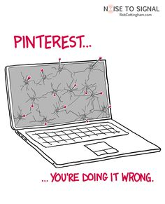 Sorry, I couldn't resist going all meat on this and pinning a comic about pinterest... :)