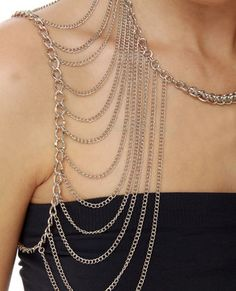 Shoulder Chain, great bathing suit accessory!