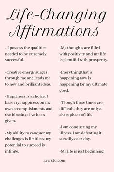 Practicing positive self-affirmations is a wonderful way to start your day. They can help you set the tone for how you want your experience to be, and aid you in establishing your intention for the da Vie Positive, Positive Affirmations Quotes, Self Love Affirmations, Law Of Attraction Affirmations, Affirmation Quotes, Manifestation Law Of Attraction, Manifestation Journal, Healthy Affirmations, Positive Mantras