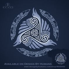 The Circle – The Circle is a group of Druids of all races that preach the equi … – Norse Mythology-Vikings-Tattoo Art Viking, Rune Viking, Viking Symbols, Norse Tattoo, Celtic Tattoos, Viking Tattoos, Celtic Patterns, Celtic Designs, Polynesian Tattoos