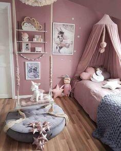 Vibrant teen girl bedrooms design for the cozy teen girl room vibe, image number 2489559288 Decor Room, Bedroom Decor, Home Decor, Fantasy Bedroom, Fairytale Bedroom, Girl Bedroom Designs, Design Bedroom, Teen Girl Bedrooms, Kids Bedroom Ideas For Girls