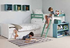 The Childrens Room: 23 Creative and Colorful Kids Room Decorating Ideas Kids Room Design childrens COLORFUL Creative Decorating Ideas Kids Room Baby Bedroom, Girls Bedroom, Bedroom Ideas, Bedroom Decor, Modern Bunk Beds, Loft Beds, Kids Room Design, Room Kids, Kid Spaces