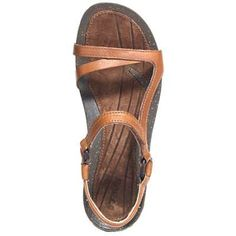 Teva Sandals: Women's Cabrillo Universal Tan Leather Sandals 1000071 $66