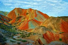 Rainbow Mountains In Chinas Danxia Landform Geological Park Are Very, Very Real (PHOTOS)