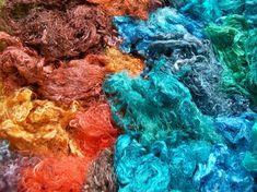 Felting and Fiber Studio: 'direct' dyeing tutorial (handpainting)