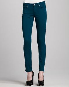 Paige Denim Skyline Skinny Ankle Jeans - Bergdorf Goodman