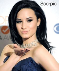 Zodiac hairstyles: Demi Lovato edition