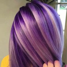 33 trendy ombre hair color ideas of 2019 - Hairstyles Trends Bright Hair, Hair Colorful, Pastel Hair, Pretty Hair Color, Hair Color Purple, Hair Colours, Violet Hair Colors, Purple Ombre, Rainbow Hair