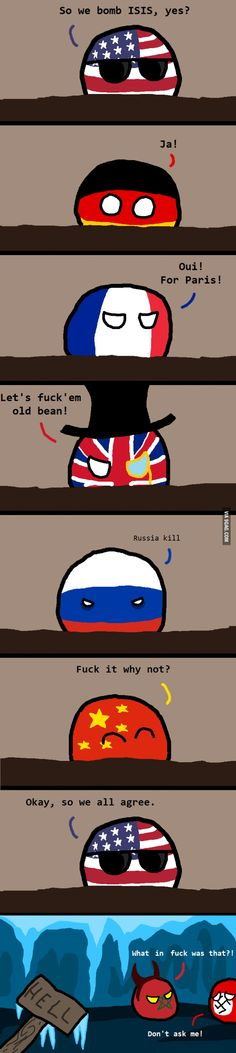 Countryballs: hell froze over