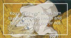 Anime facts kou diabolik lovers